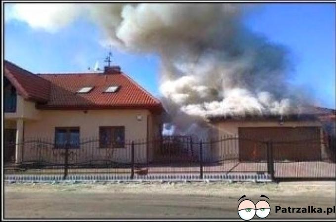 Sąsiad próbuje odpalić Alfe
