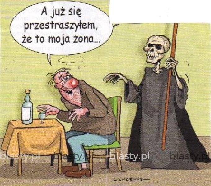 Śmierć vs żona