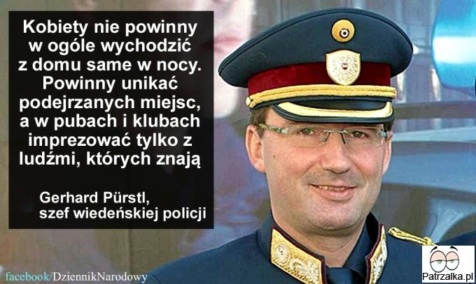 Szef Wiedeńskiej policji radzi