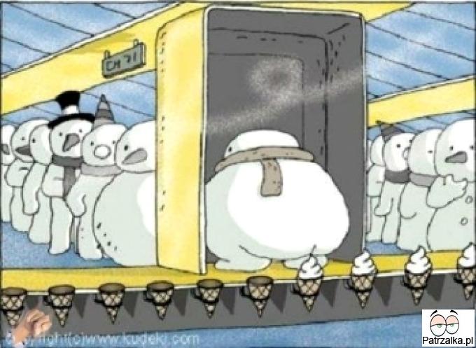 Tajemnica produkcji lodów została rozwiązana