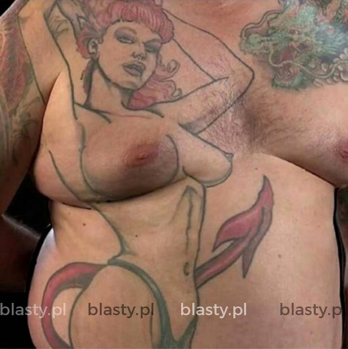 Tatuaż z czasem nabiera charakteru