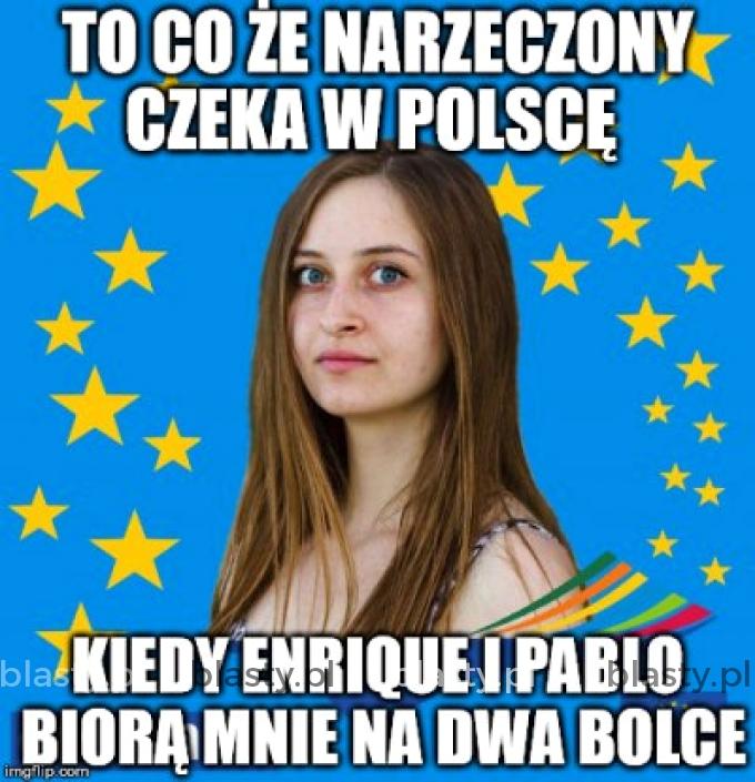 To co że narzeczony czeka w Polsce