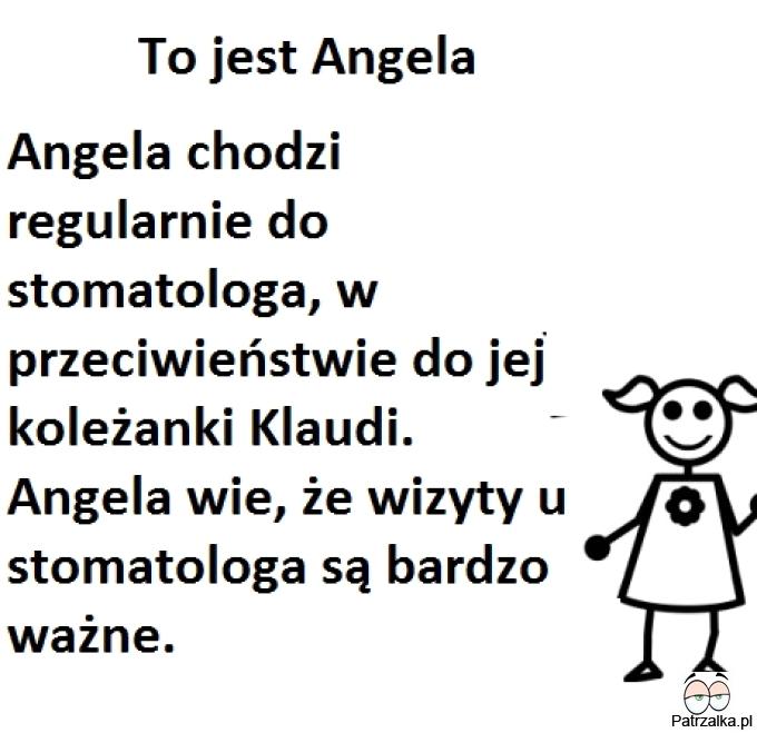 To jest Angela