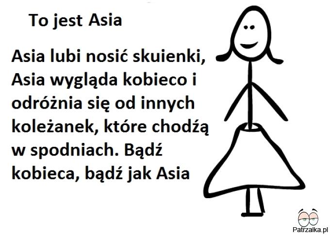 To jest Asia