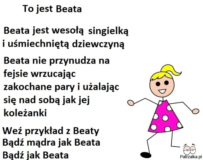 To jest Beata