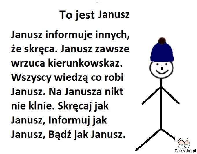 To jest Janusz