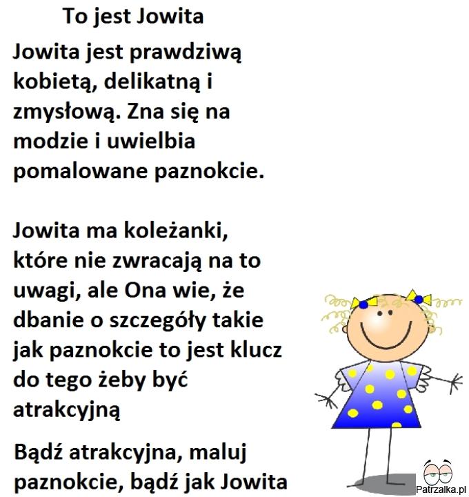 To jest Jowita