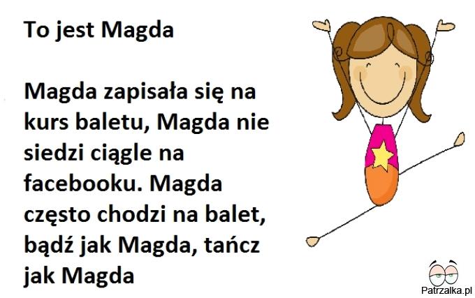 To jest Magda