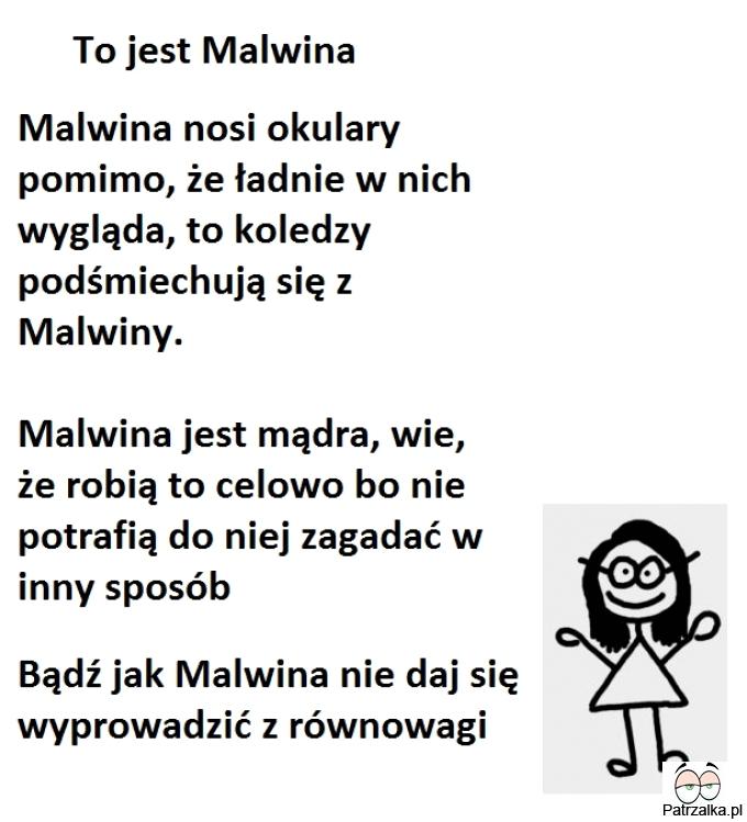 To jest Malwina