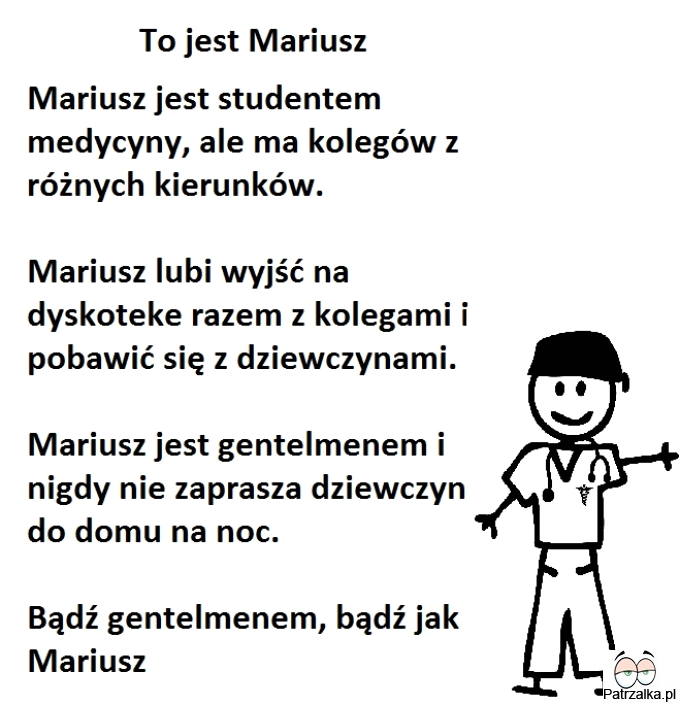 To jest Mariusz