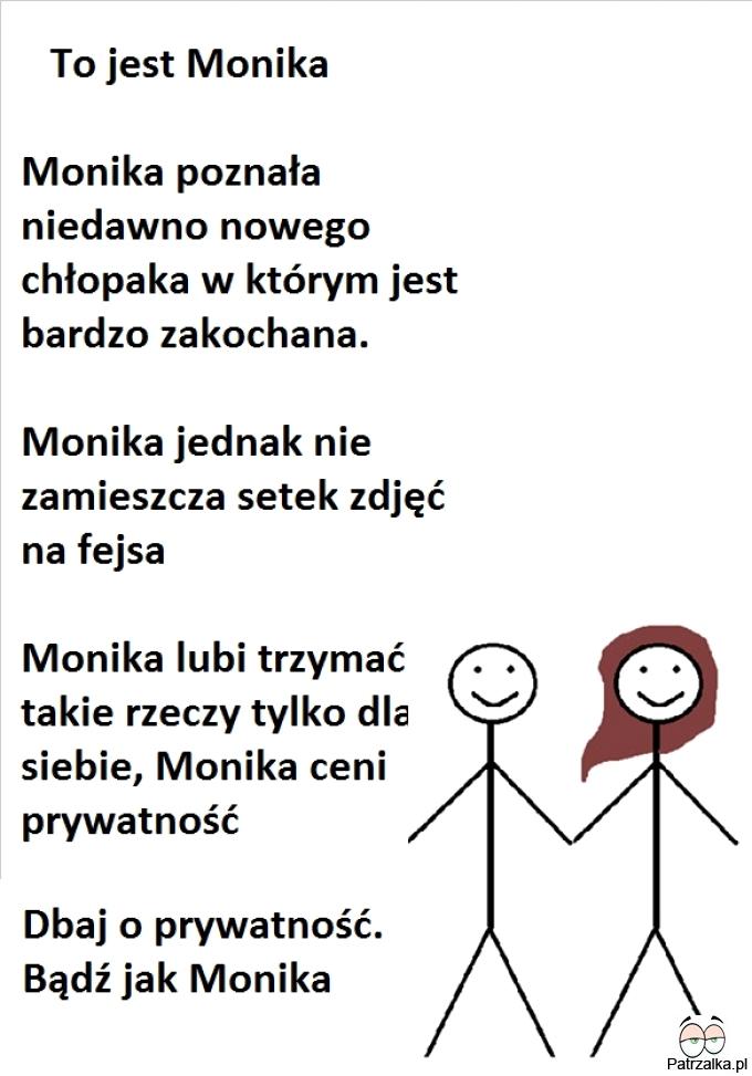 To jest Monika