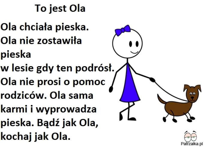 To jest Ola