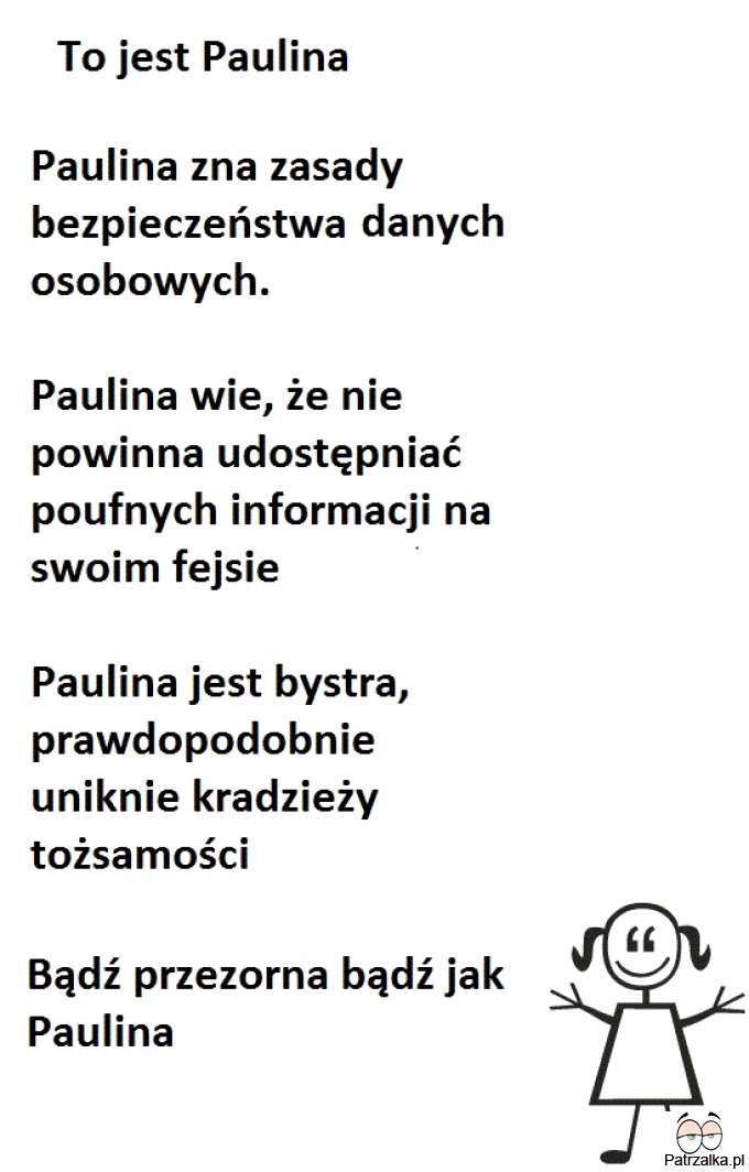 To jest Paulina