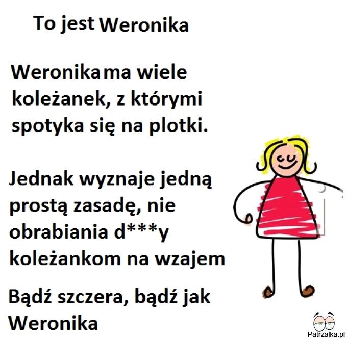 To jest Weronika