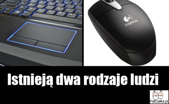 Touchpad VS myszka
