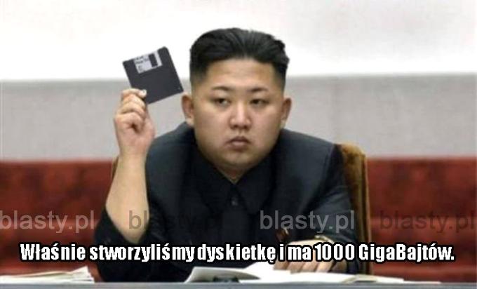 Tym czasem w Korei Północnej.