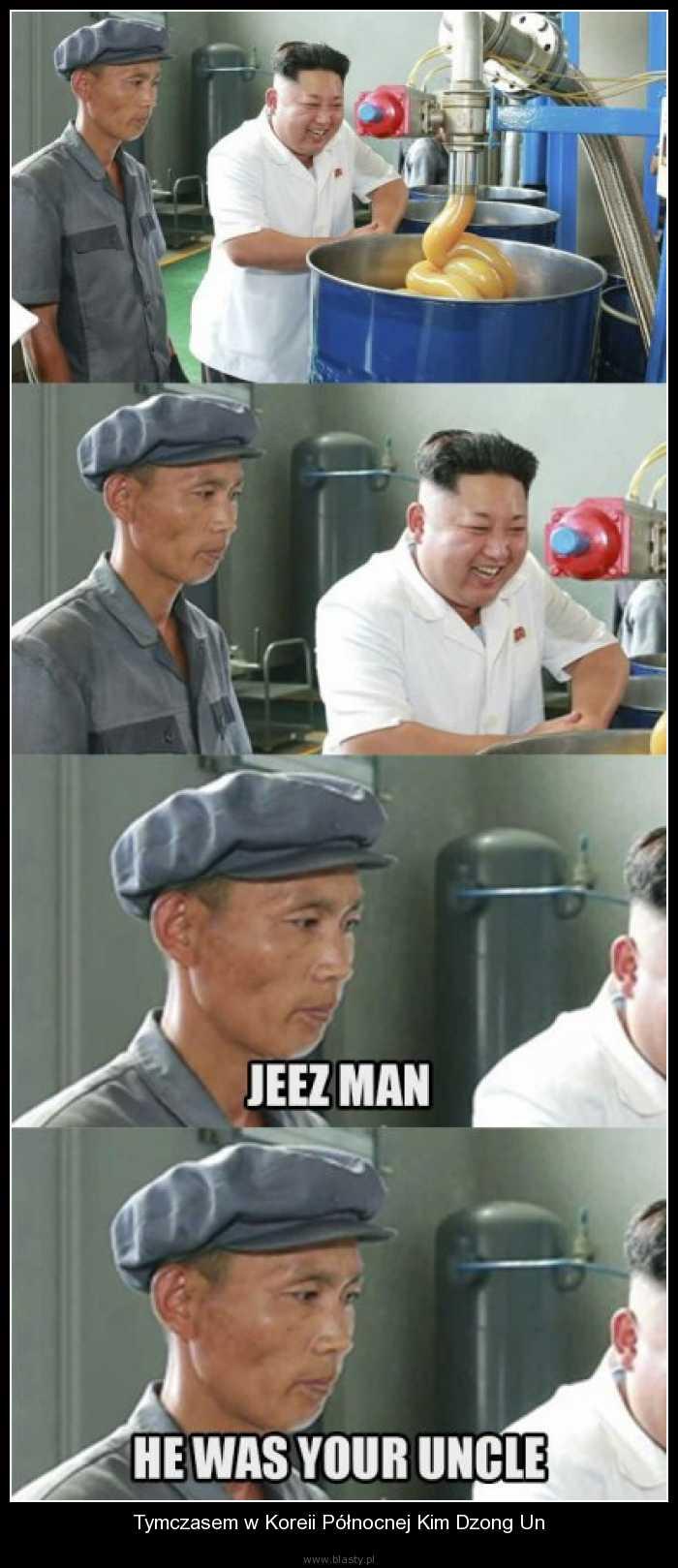 Tymczasem w Koreii Północnej Kim Dzong Un