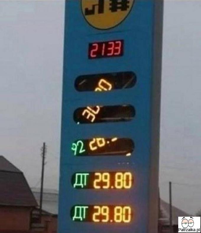 U sąsiadów ceny paliwa w dół