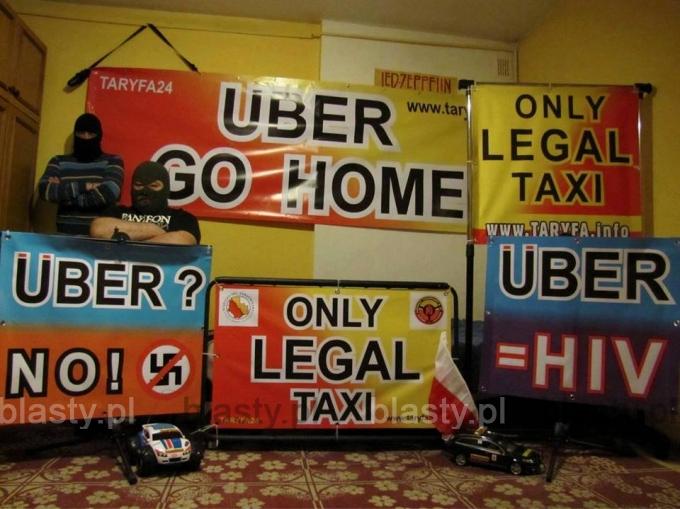 Uber hejt