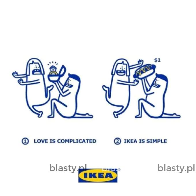 W walentynki bądź jak Ikea