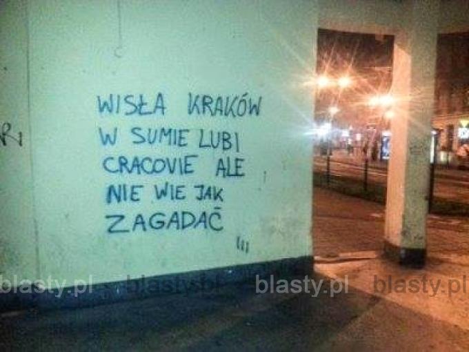 Wisła Kraków w sumie lubi Cracovie