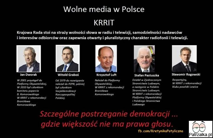 Wolne media w polsce