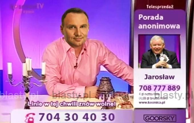 Wróżbita Maciej Andrzej Duda