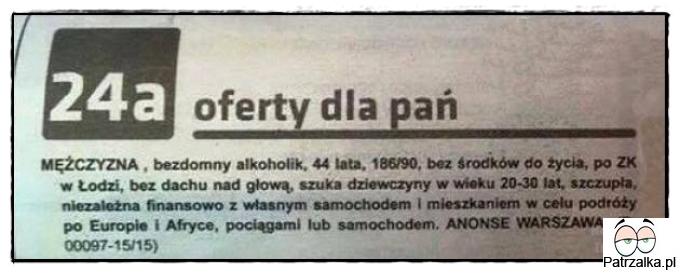 gazeta matrymonialna Olsztyn