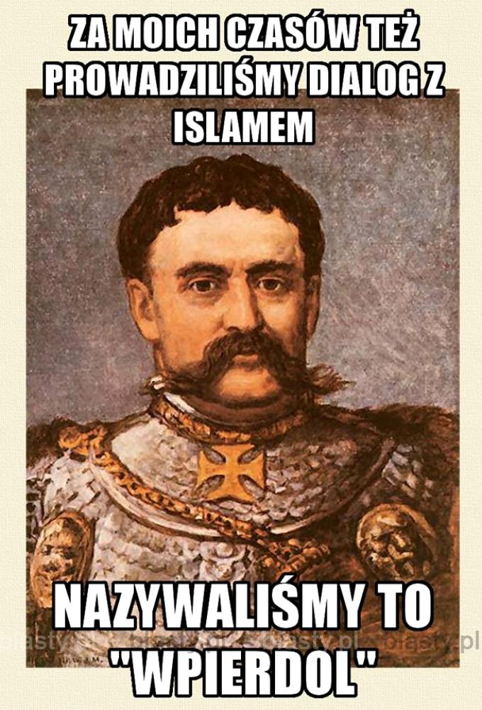 Za moich czasów też prowadziliśmy dialog z Islamem