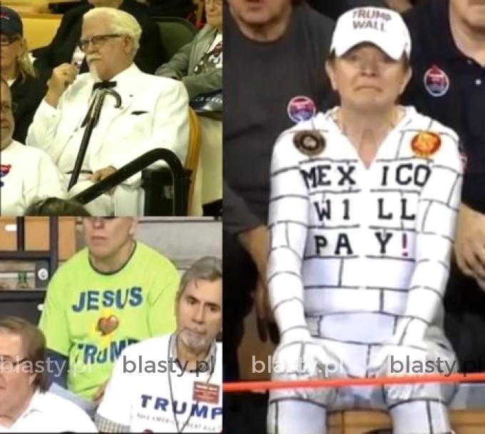 Zagorzali fani Trumpa