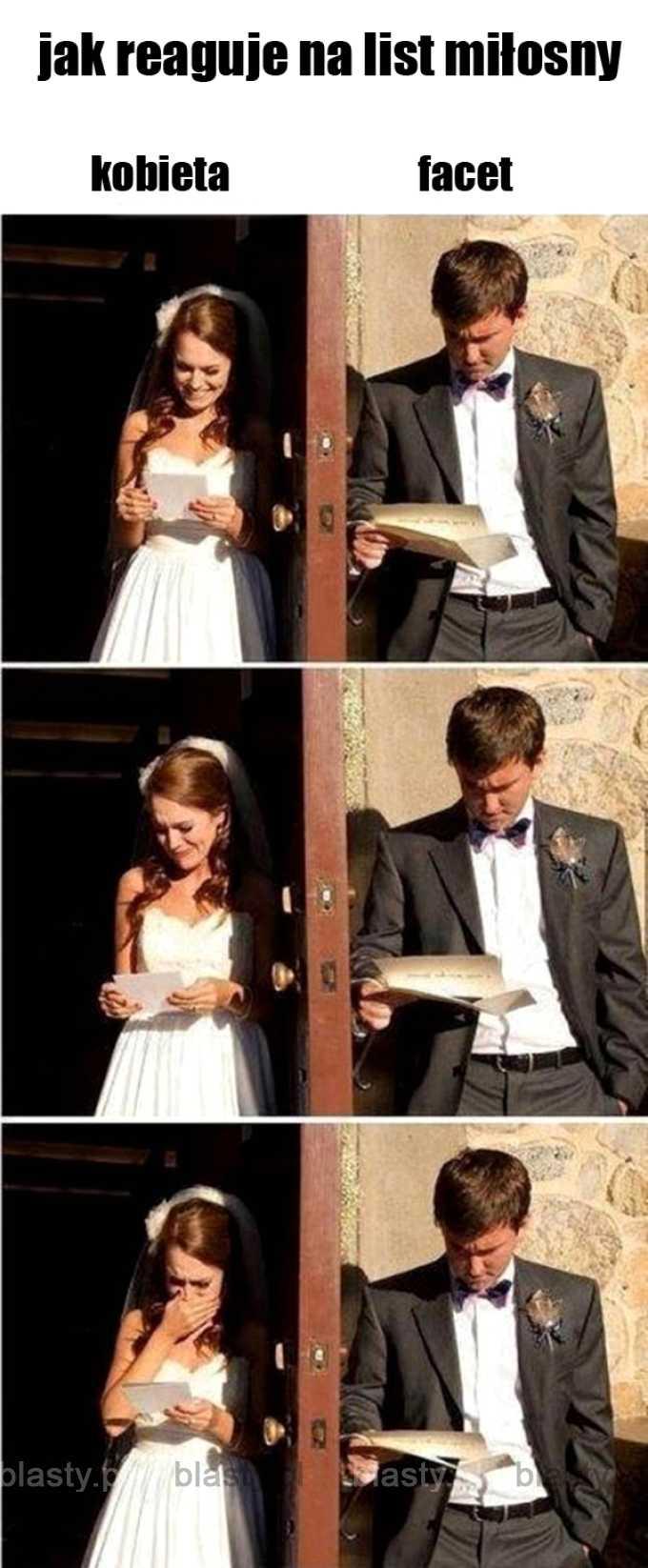 Zasadnicza różnica pomiędzy kobietą, a facetem.