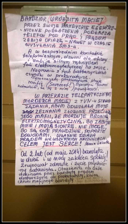 Bandyta wróżbita Maciej
