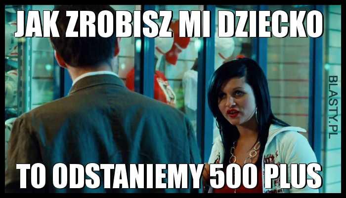 Galerianka i 500 plus