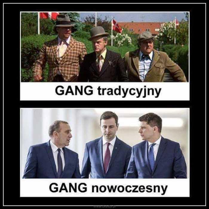 Gang tradycyjny vs gang nowoczesny