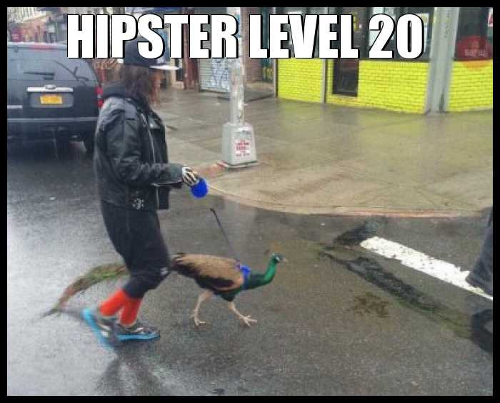 Hipster level 20