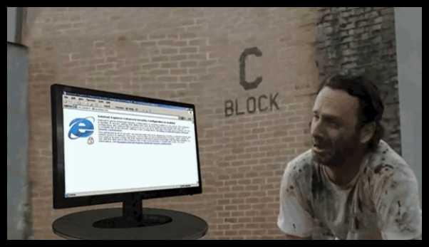 Internet Explorer taki jest