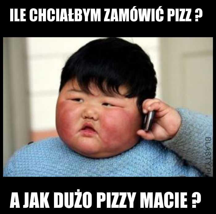 jak dużo pizzy macie ?