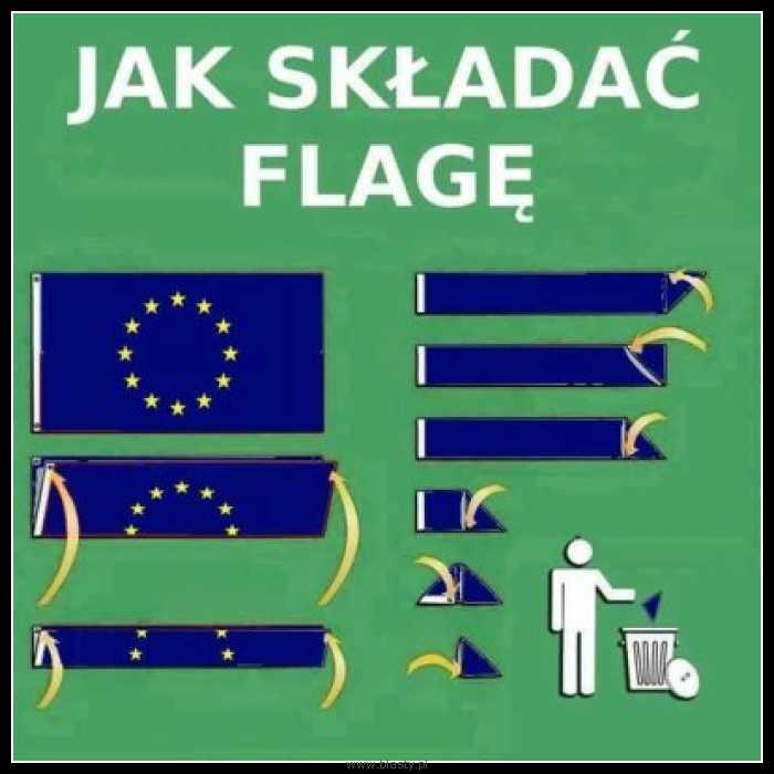 Jak składać flagę - poradnik