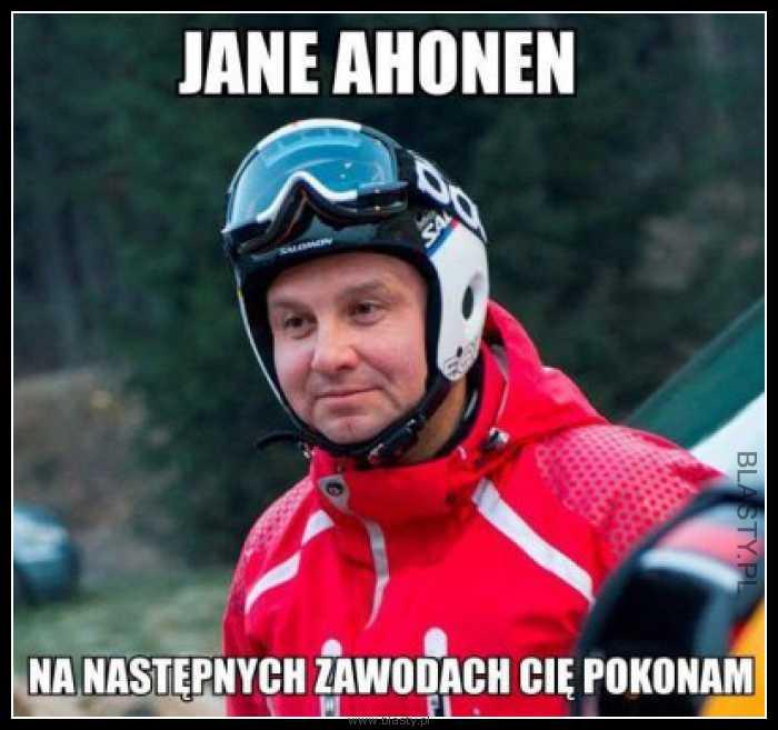 Jane Ahonen na następnych zawodach Cię pokonam