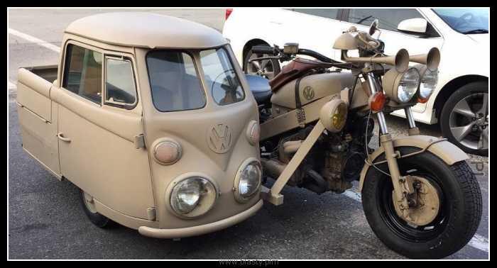 Kiedy jesteś hipsterem motocyklistą