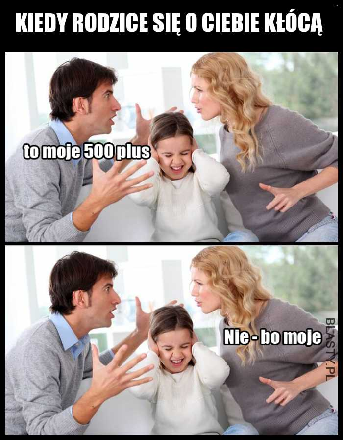 Kiedy rodzice się o ciebie kłócą