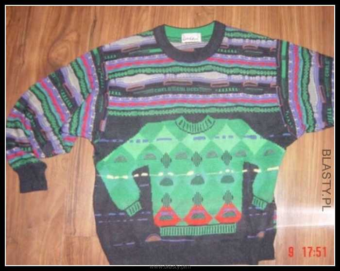 Koncepcja pewnego swetru