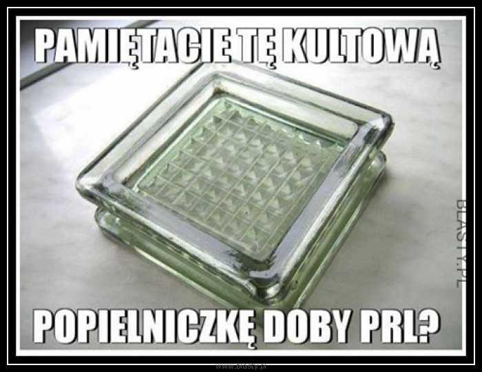 Kultowa popielniczka rodem z PRL