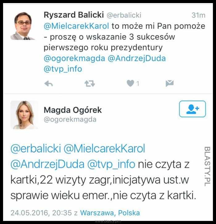 Magdalena Ogórek komentuje pierwszy rok prezydentury Andrzeja Dudy