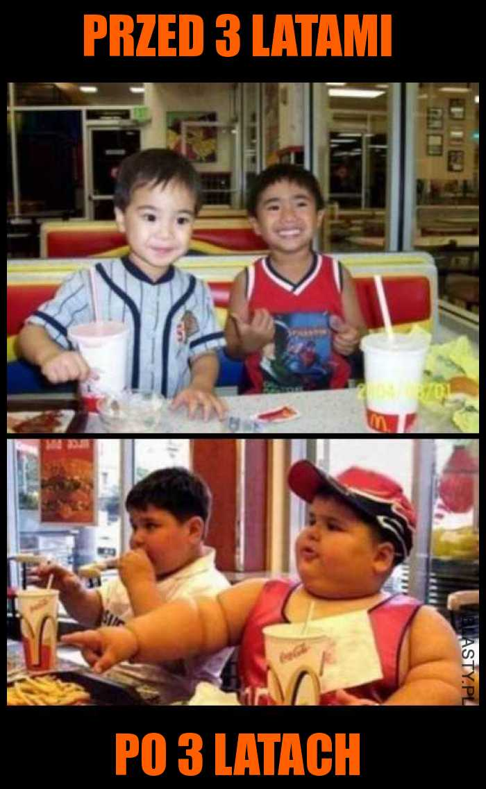 McDonald zrobi z Ciebie grubasa