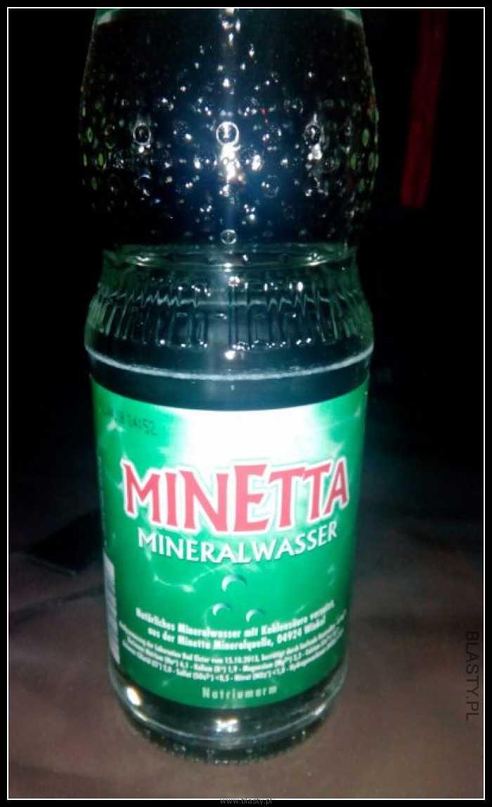 Minetta najlepsza woda mineralna