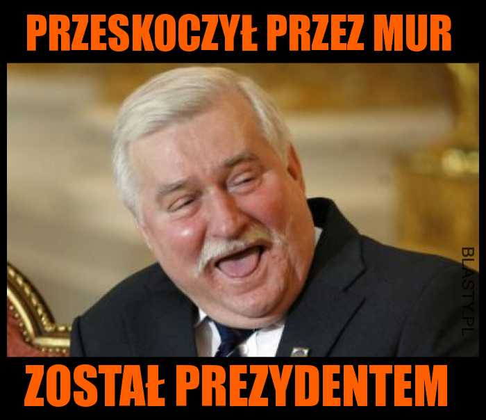 Mur przez który przeskoczył Wałęsa
