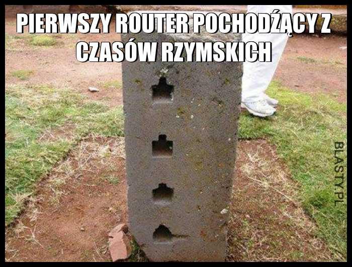 Pierwszy router pochodźący z czasów rzymskich