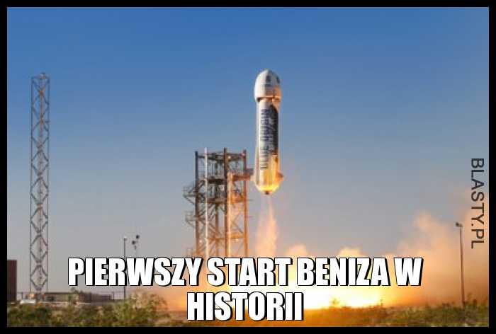 Pierwszy start Beniza w historii
