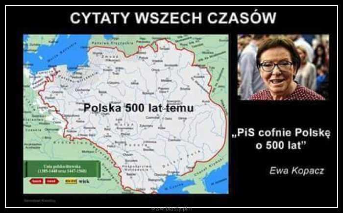 PIS cofnie polskę o 500 lat